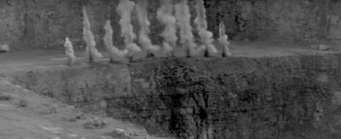 High Speed Recording Camera Rock Blasting Surface Mining  YouTube 240p